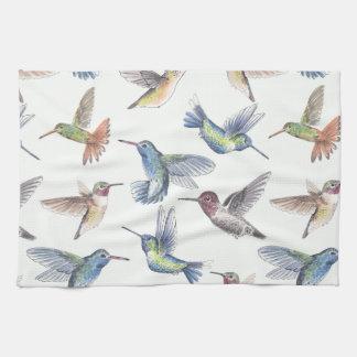 Hummingbirds Kitchen Towel
