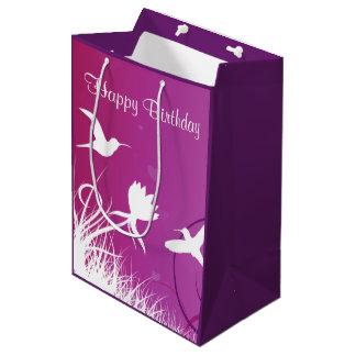 Hummingbirds Medium Gift Bag
