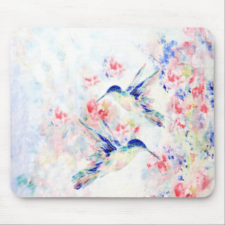 Hummingbirds Mouse Pad