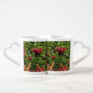 Hummingbirds on Red Bee Balm, double mug