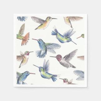 Hummingbirds Paper Napkin
