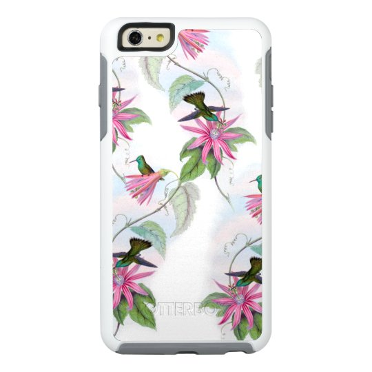 Hummingbirds pattern OtterBox iPhone 6/6s plus case
