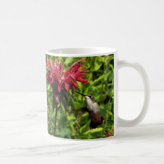 Hummingbirds Red Bee Balm Coffee Mug