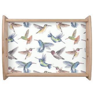 Hummingbirds Serving Tray