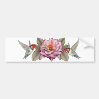 Hummingbirds sticker