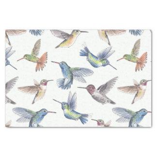 Hummingbirds Tissue Paper