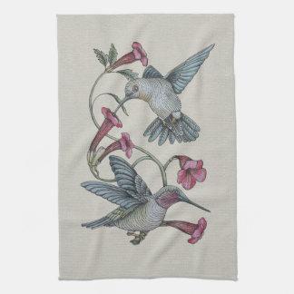 Hummingbirds & Vine Kitchen Towel
