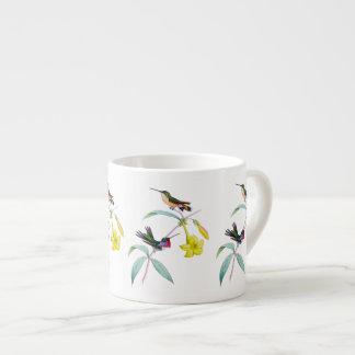 Hummingbirds Wildflower Botanical Espresso Mug