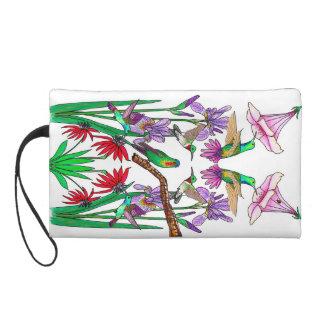 Hummingbirds Wristlet