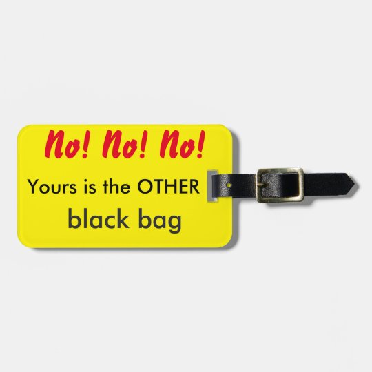 HUMOR - Luggage Tag