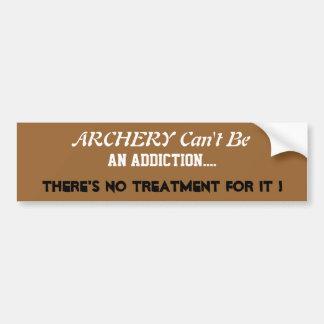 Humorous Archery Bumper Sticker
