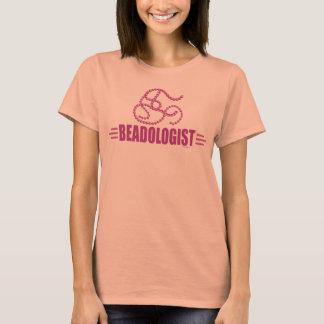 Humorous Beading T-Shirt