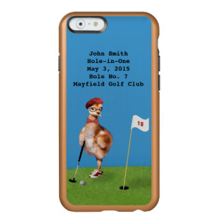 Humorous Bird Playing Golf, Hole-in-One Incipio Feather® Shine iPhone 6 Case