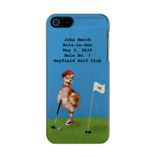 Humorous Bird Playing Golf, Hole-in-One Incipio Feather® Shine iPhone 5 Case