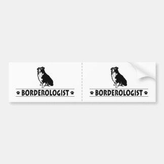 Humorous Border Collie Bumper Sticker