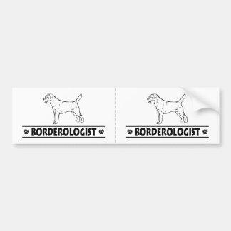 Humorous Border Terrier Bumper Sticker