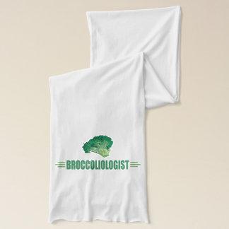 Humorous Broccoli Scarf