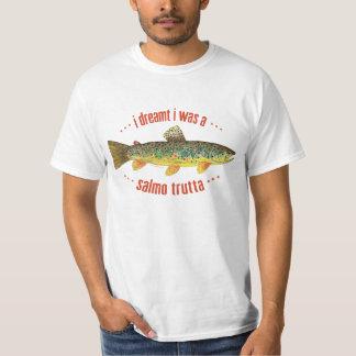 Humorous Brook Trout Fish, Fishing T-Shirt