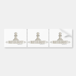 Humorous Chess Player Bumper Sticker