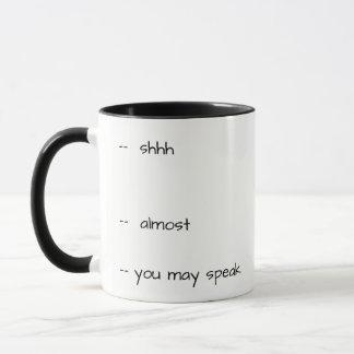 Humorous Coffee Mug - dont talk to me