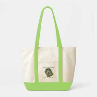 Humorous Dandelion Tote Bag- customize