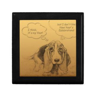 Humorous Dog Year 2018 Gift Box