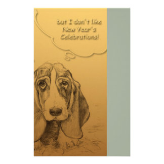 Humorous Dog Year 2018 Staionery Stationery