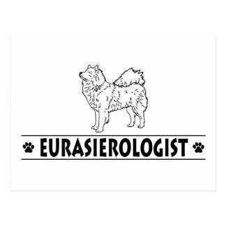 Humorous Eurasier Post Cards