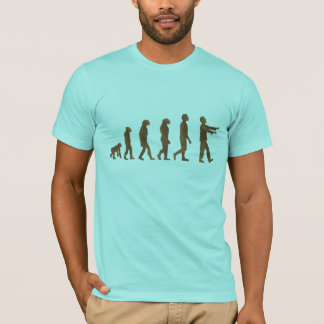 Humorous evolution process - next step a Zombie T-Shirt