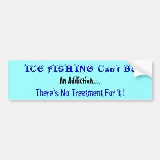 Humorous Fishing Bumper Sticker