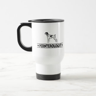 Humorous German Wirehaired Pointer Travel Mug
