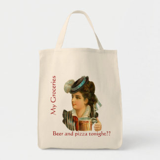 Humorous Grocery Tote