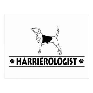Humorous Harrier Postcards