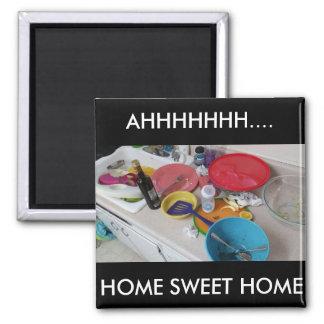 Humorous Home Sweet Home Magnet