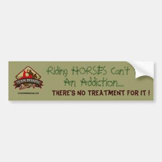Humorous Horse bumper Sticker
