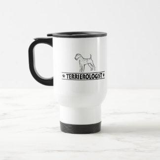 Humorous Irish Terrier Travel Mug