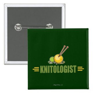 Humorous Knitting Pinback Buttons