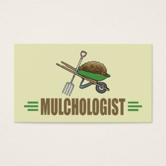 Humorous Landscaping Business Card