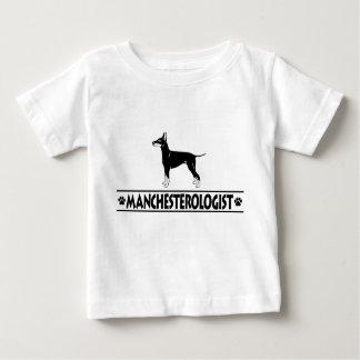 Humorous Manchester Terrier Baby T-Shirt