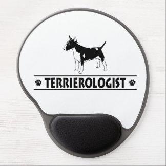 Humorous Miniature Bull Terrier Gel Mousepads