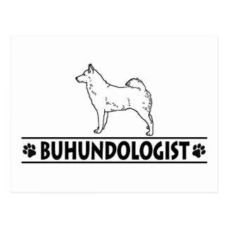 Humorous Norwegian Buhund Post Cards