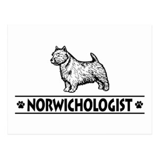Humorous Norwich Terrier Postcard
