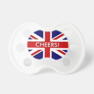 Humorous Pacifier / Dummy for english baby
