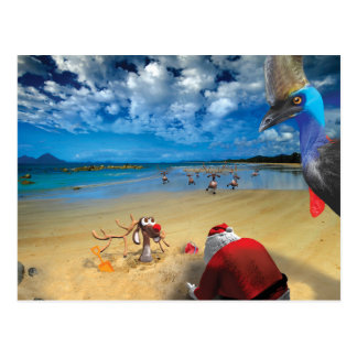 Humorous Post Cards of Santa's Pilgrimage