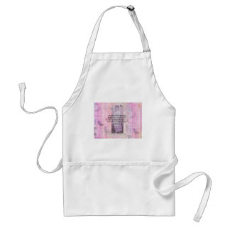 Humorous quote by JANE AUSTEN about people Standard Apron