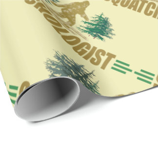 Humorous Sasquatch Wrapping Paper