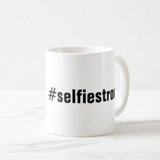 Humorous #selfiestrong Coffee Mug