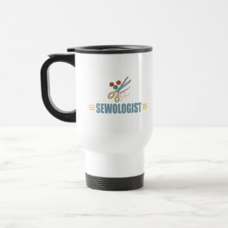 Humorous Sewing Travel Mug