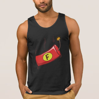 Humorous Tank Top, F Bomb Dropping