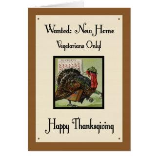 Humorous Thanksgiving Day Card